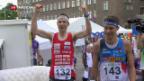 Video «Sport: Siegreiche Schweizer OL-Sprinter» abspielen