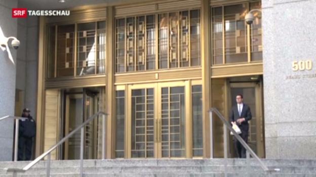 Video «Bank Wegelin in den USA verurteilt» abspielen