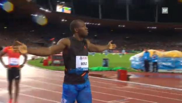Video «LA: 200 m Männer» abspielen