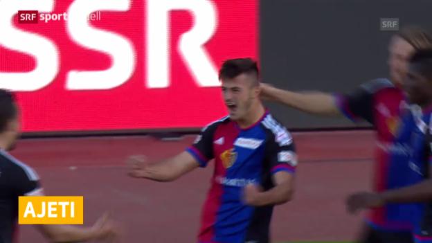 Video «Albian Ajeti verlässt Basel Richtung Bundesliga («sportaktuell»)» abspielen