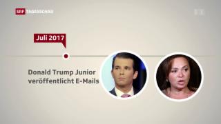 Video «Donald Trump jr. verteidigt seine Russlandkontakte» abspielen