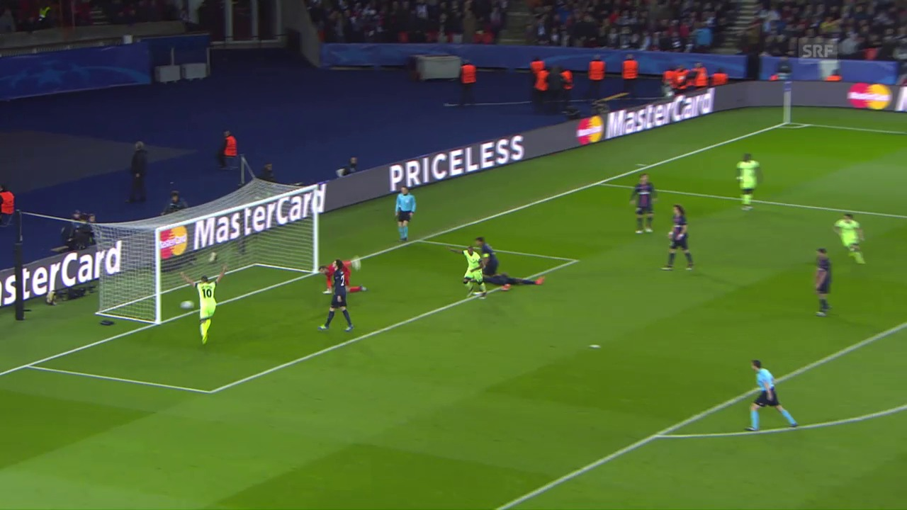 Manchester City erkämpft sich ein 2:2 bei PSG