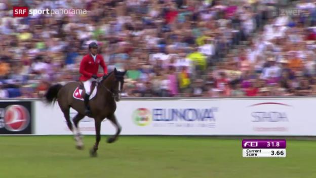 Video «Reiten: EM in Aachen, Einzel-Final» abspielen
