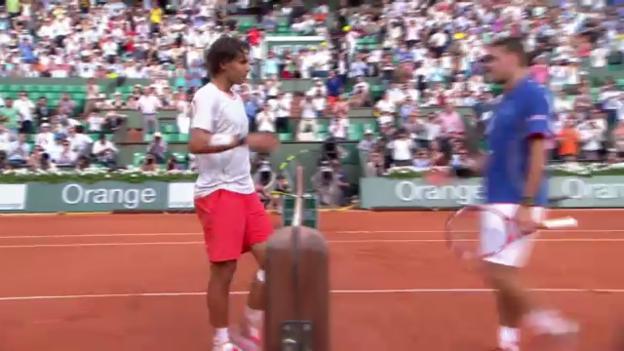 Video «Highlights Nadal - Wawrinka («sportlive»)» abspielen