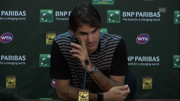 Video «Pressekonferenz mit Roger Federer» abspielen
