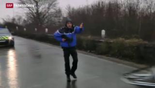 Video «Flüchtige Hauptverdächtige von «Charlie Hebdo» erschossen» abspielen