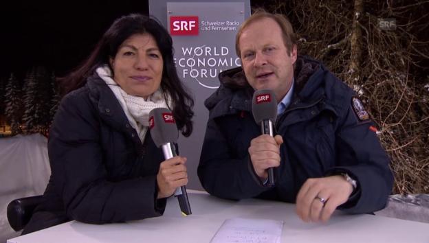 Video «Das bringt der Samstag am WEF» abspielen