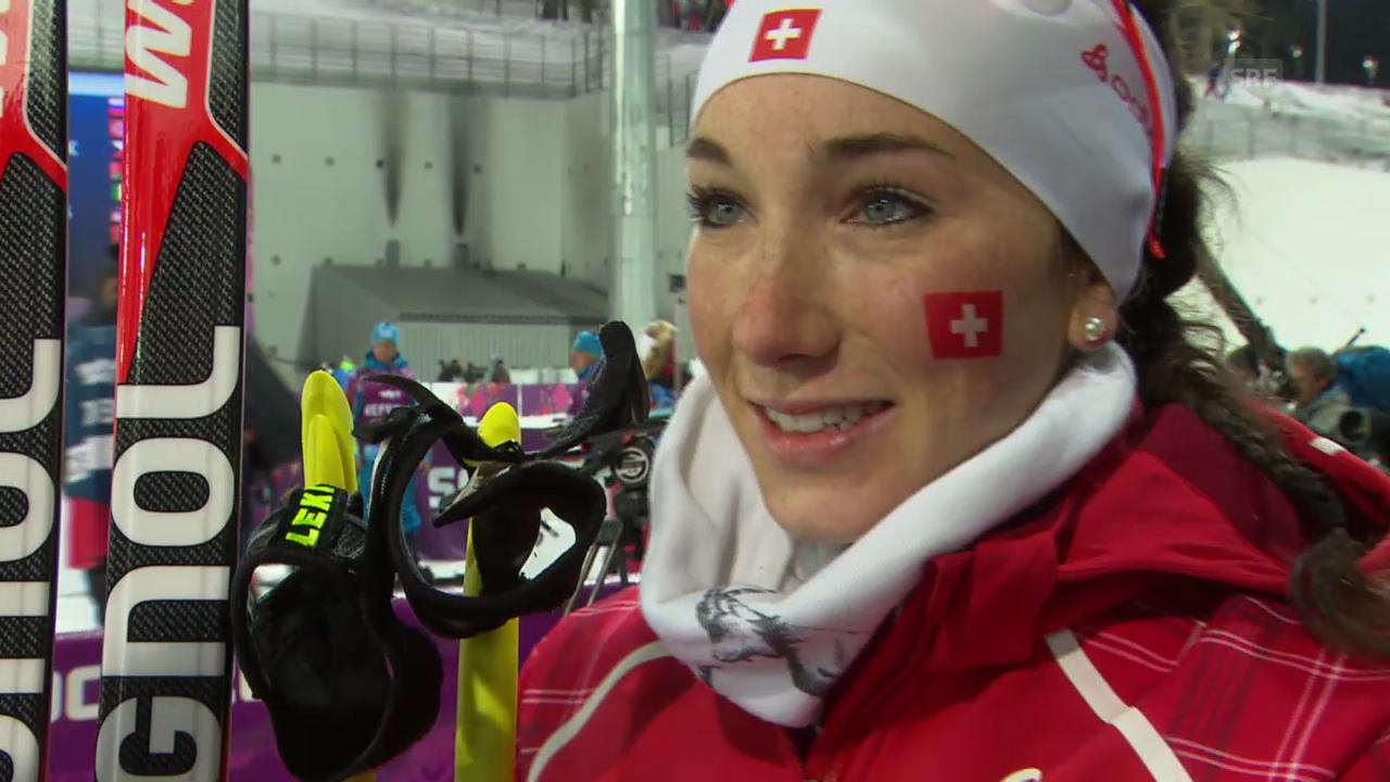 Biathlon: Interview mit Aita Gasparin (sotschi direkt, 21.02.2014)