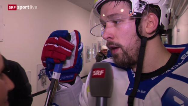 Video «Eishockey: Interview Patrick Geering» abspielen