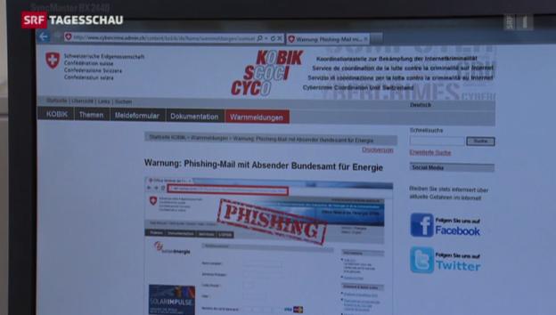 Video «Internet-Betrug hat stark zugenommen» abspielen