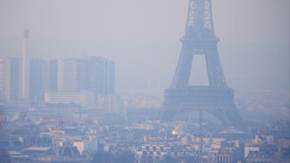 Dicke Luft in Frankreichs Städten