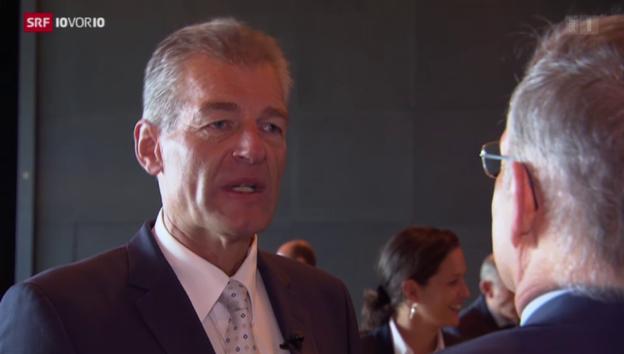 Video «Heinz Karrer: Bilanz nach zwei Jahren» abspielen