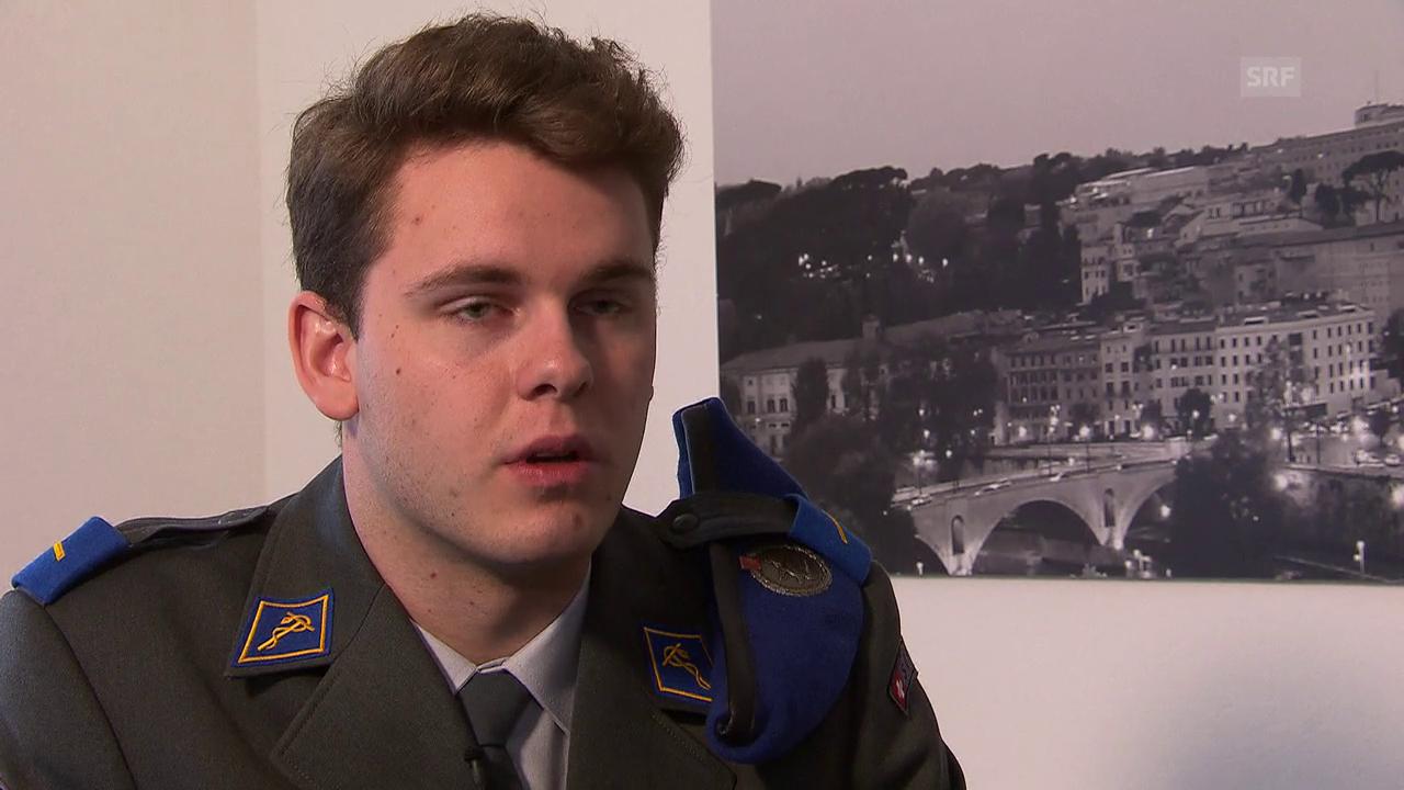 Deshalb will Maurizio Cavelti nach Rom