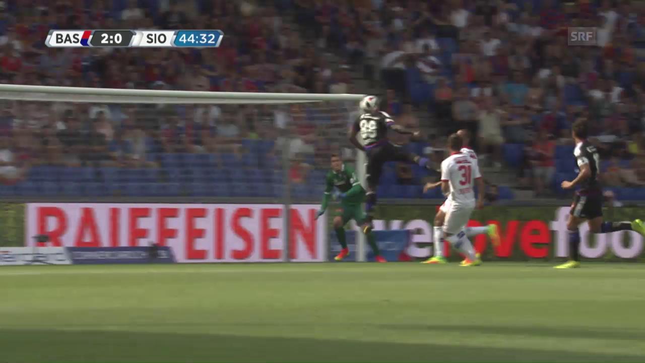 Hat nichts verlernt: Doumbias Treffer zum 2:0