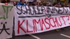 Video «Grosse Klima-Demo – demonstriert wird jetzt am Wochenende» abspielen