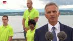 Video «Bundespräsident hält Ansprache zum Nationalfeiertag» abspielen