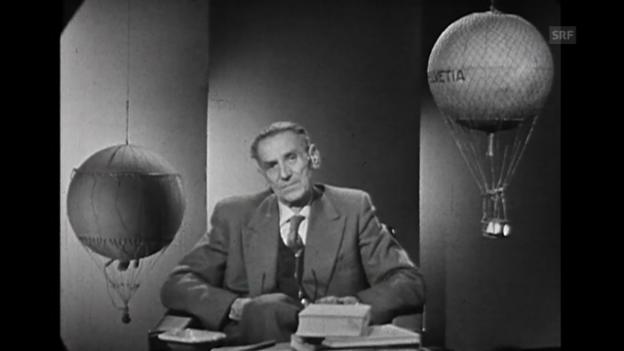 Video «Erlebnisse mit Auguste Piccard (aus «Gut Land», 4.10.1964)» abspielen