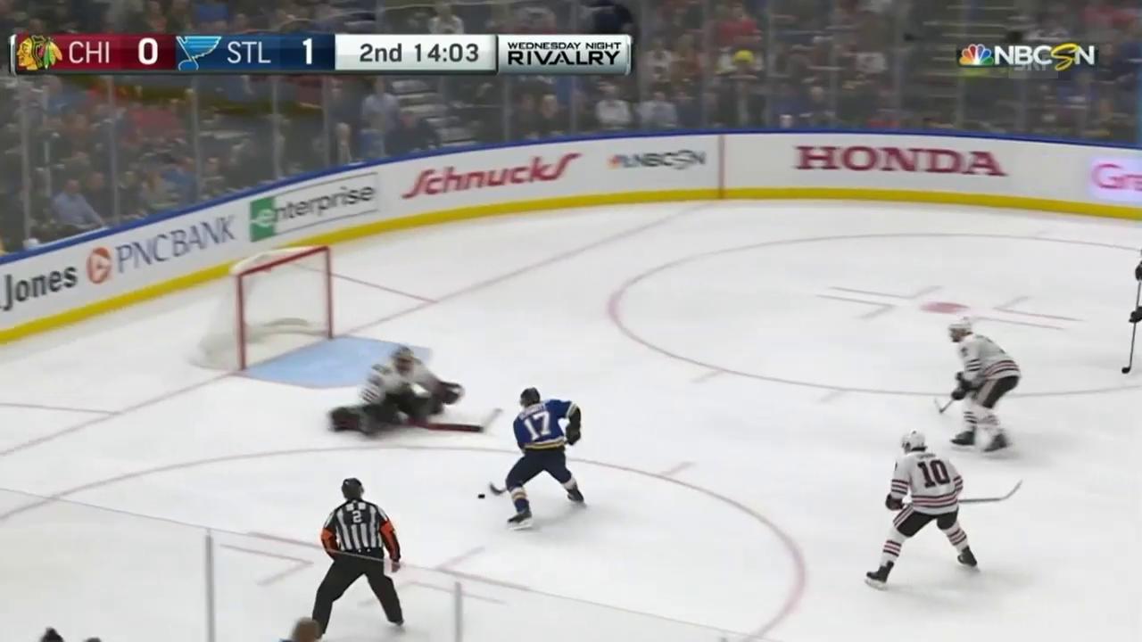 Schwartz schiesst Blackhawks ab
