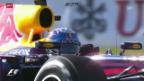Video «Webber hält Vettel im Suzuka-Qualifying in Schach» abspielen