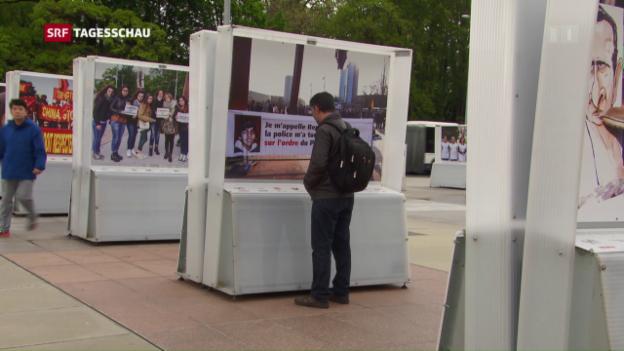 Video «Erdogan blitzt in Genf ab» abspielen