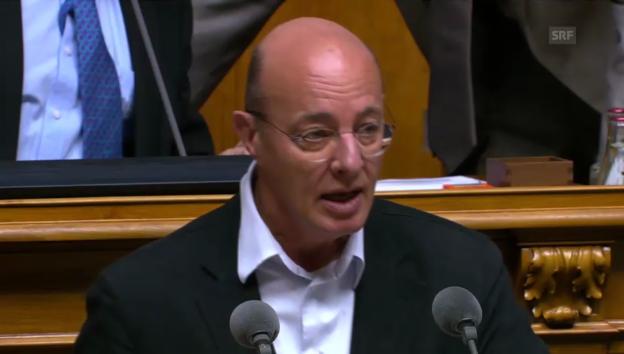 Video «Nationalrat Louis Schelbert (Grüne/LU) fand die Revision überflüssig» abspielen