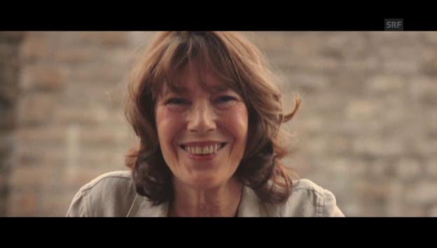Video «Ehrung für Jane Birkin am Filmfestival in Locarno» abspielen