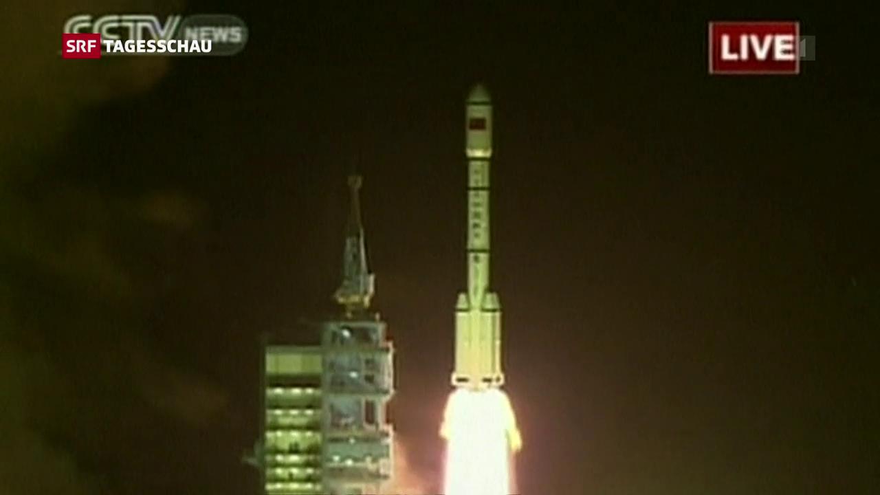 Chinesisches Raumlabor stürzt in nächsten Tagen ab