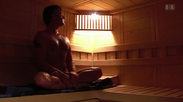 Video «Saunagänger sind seltener krank» abspielen