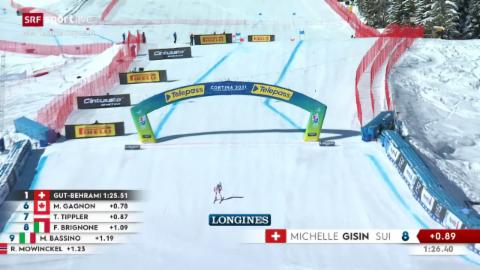 La cursa da Michelle Gisin