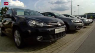 Video «Schweizer Zulassungsverbot für Diesel-VW» abspielen