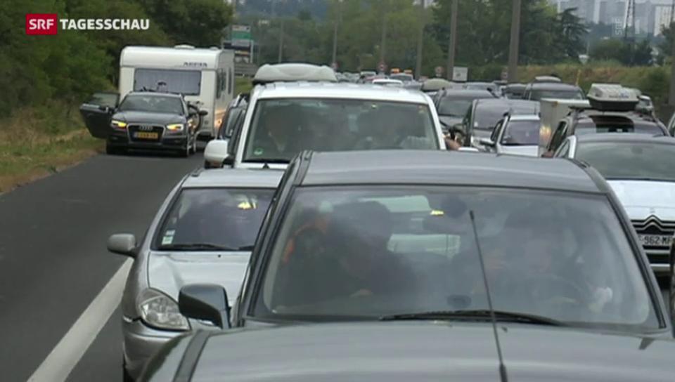 Verkehrsstaus in ganz Europa