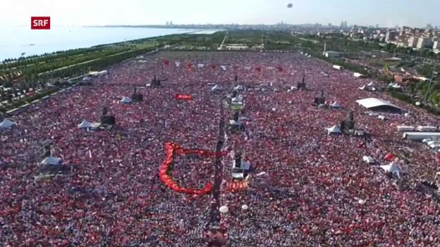 Video «Hunderttausende demonstrieren für Gerechtigkeit» abspielen