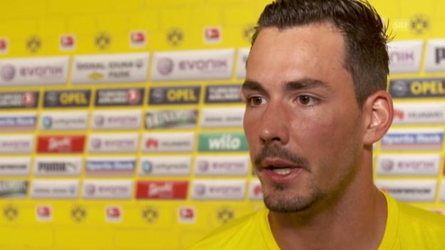 Video «Fussball: Roman Bürki im Interview» abspielen
