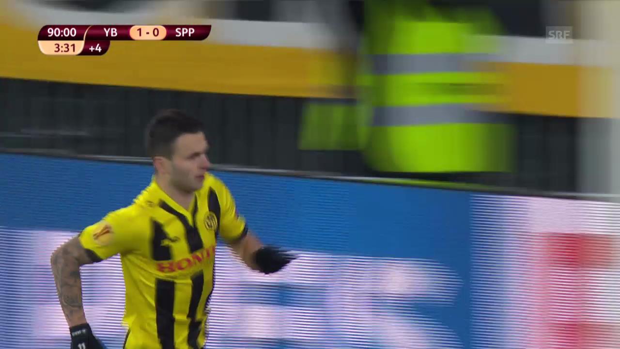 Fussball: EL, YB-Sparta, Live-Highlights