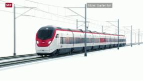 Video «Neue Züge für den Neat-Basis-Tunnel» abspielen