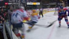 Video «Baltisberger checkt Frick gegen den Kopf» abspielen