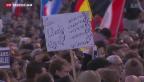 Video «Solidaritätsmarsch: Gemeinsam gegen den Terror» abspielen
