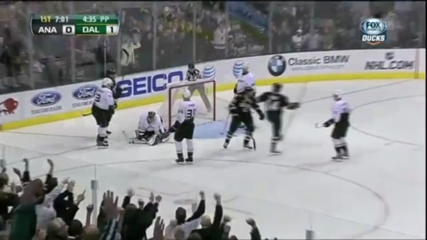 Video «NHL: Highlights Dallas Stars - Anaheim Ducks» abspielen