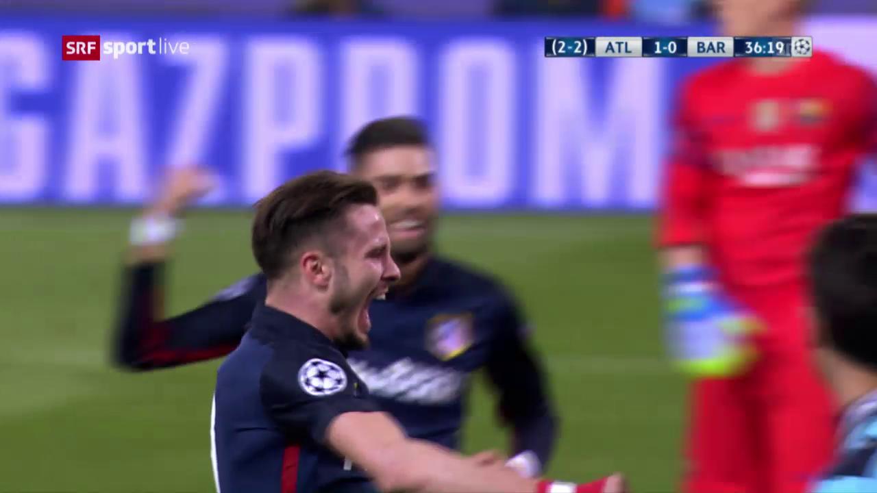 Griezmann trifft für Atletico zum 1:0