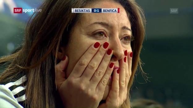 Video «Besiktas' Aufholjagd gegen Benfica» abspielen