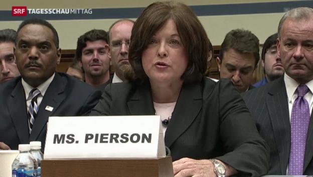 Video «Secret Service-Chefin trat zurück» abspielen