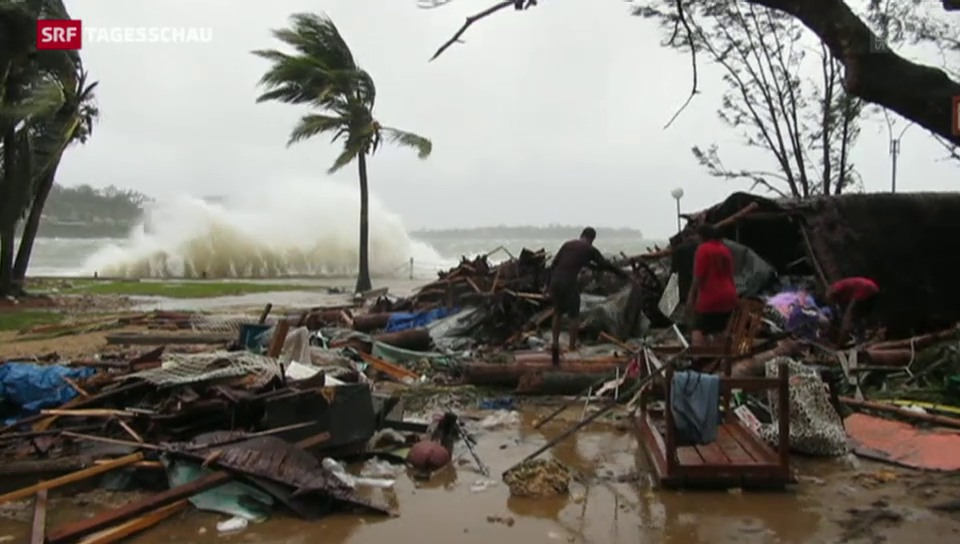 Zyklon «Pam» verwüstet Inselstaat Vanuatu