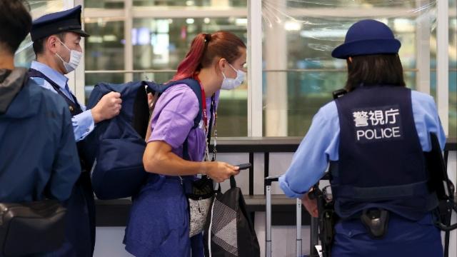 Timanowskaja steht unter dem Schutz der japanischen Polizei