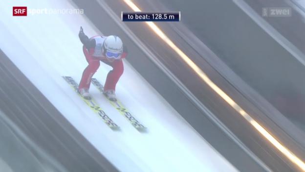 Video «Skispringen: Saisonabschluss Planica» abspielen