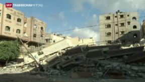 Video «Unruhen im Westjordanland » abspielen