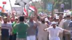Video «Ein Jahr Mursi – Opposition ruft zum Protest» abspielen