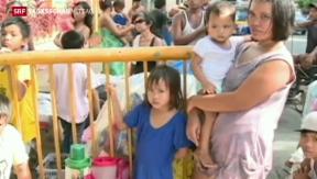 Video «Angst vor Taifun auf den Philippinen» abspielen