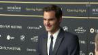 Video «Mit Roger Federer am Zurich Film Festival» abspielen