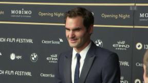 Video «Mit Roger Federer am Zurich Film Festival » abspielen