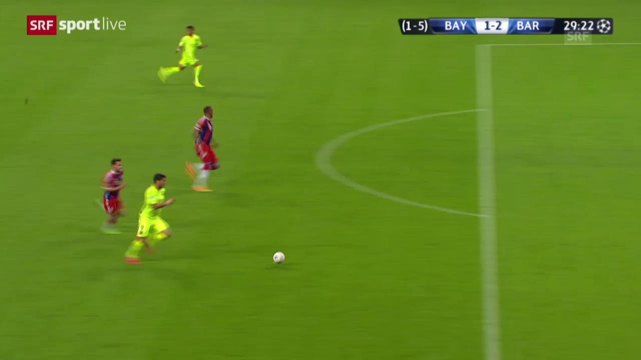 Fussball: Champions League 2014/15, Halbfinal, Rückspiel, Bayern - Barcelona
